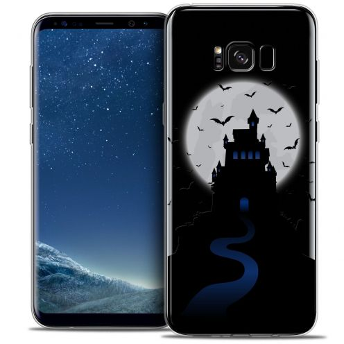 Coque Crystal Gel Samsung Galaxy S8 (G950) Extra Fine Halloween - Castle Nightmare