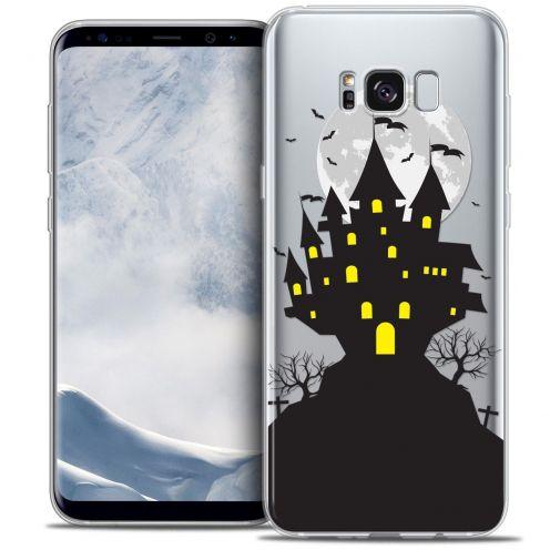 Coque Crystal Gel Samsung Galaxy S8 (G950) Extra Fine Halloween - Castle Scream