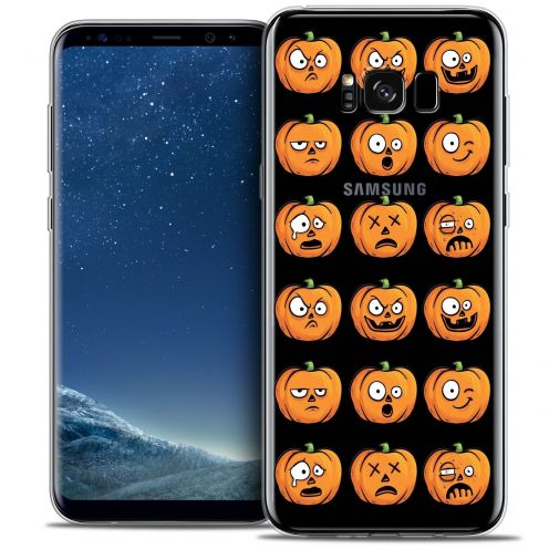 Coque Crystal Gel Samsung Galaxy S8 (G950) Extra Fine Halloween - Cartoon Citrouille
