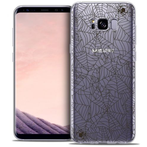 Coque Crystal Gel Samsung Galaxy S8+/ Plus (G955) Extra Fine Halloween - Spooky Spider