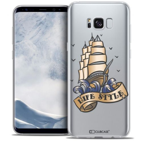 Coque Crystal Gel Samsung Galaxy S8+/ Plus (G955) Extra Fine Tatoo Lover - Life Style