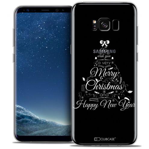 Coque Crystal Gel Samsung Galaxy S8+/ Plus (G955) Extra Fine Noël 2016 - Calligraphie