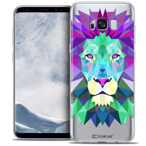 Coque Crystal Gel Samsung Galaxy S8+/ Plus (G955) Extra Fine Polygon Animals - Lion