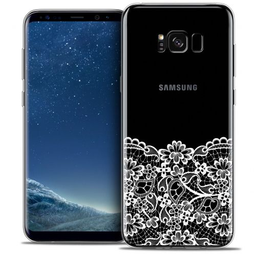 Coque Crystal Gel Samsung Galaxy S8+/ Plus (G955) Extra Fine Spring - Bas dentelle