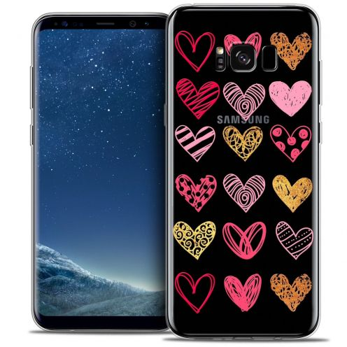 Coque Crystal Gel Samsung Galaxy S8+/ Plus (G955) Extra Fine Sweetie - Doodling Hearts
