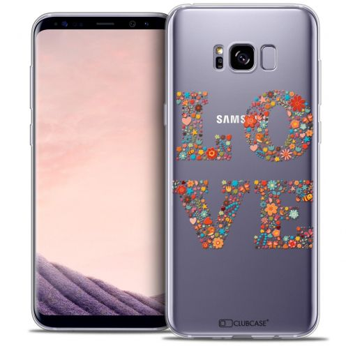 Coque Crystal Gel Samsung Galaxy S8+/ Plus (G955) Extra Fine Summer - Love Flowers