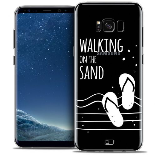 Coque Crystal Gel Samsung Galaxy S8+/ Plus (G955) Extra Fine Summer - Walking on the Sand