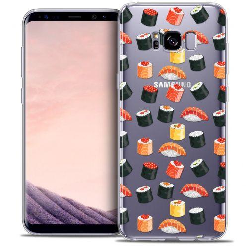 Coque Crystal Gel Samsung Galaxy S8+/ Plus (G955) Extra Fine Foodie - Sushi