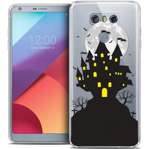 Coque Crystal Gel LG G6 Extra Fine Halloween - Castle Scream