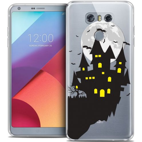 Coque Crystal Gel LG G6 Extra Fine Halloween - Castle Dream