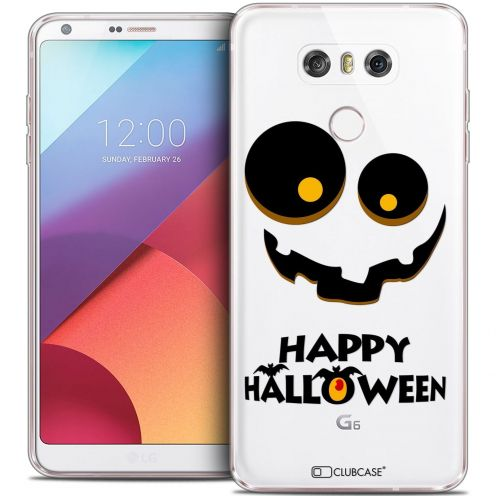 Coque Crystal Gel LG G6 Extra Fine Halloween - Happy