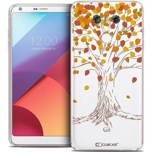 Coque Crystal Gel LG G6 Extra Fine Autumn 16 - Tree
