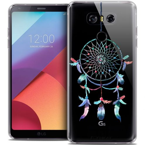 Coque Crystal Gel LG G6 Extra Fine Dreamy - Attrape Rêves Rainbow
