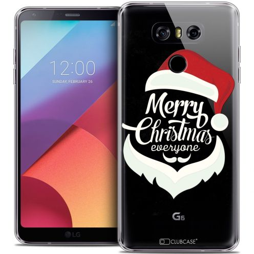 Coque Crystal Gel LG G6 Extra Fine Noël 2016 - Merry Everyone