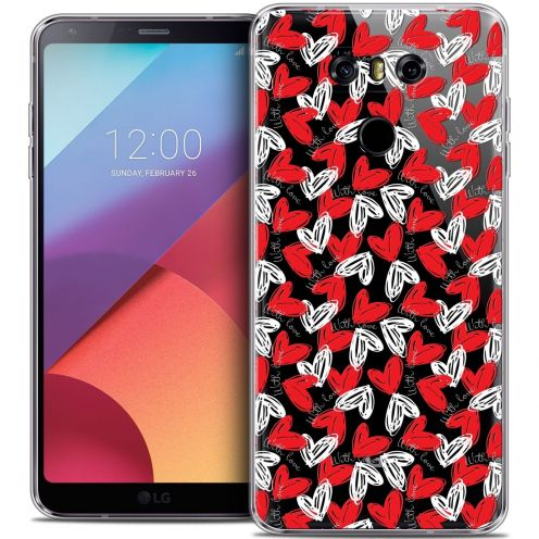 Coque Crystal Gel LG G6 Extra Fine Love - With Love