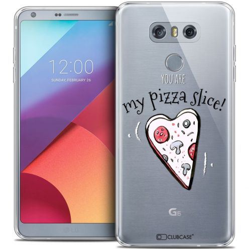 Coque Crystal Gel LG G6 Extra Fine Love - My Pizza Slice