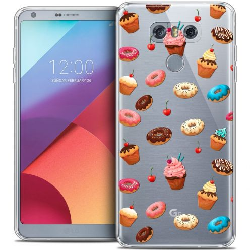 Coque Crystal Gel LG G6 Extra Fine Foodie - Donuts