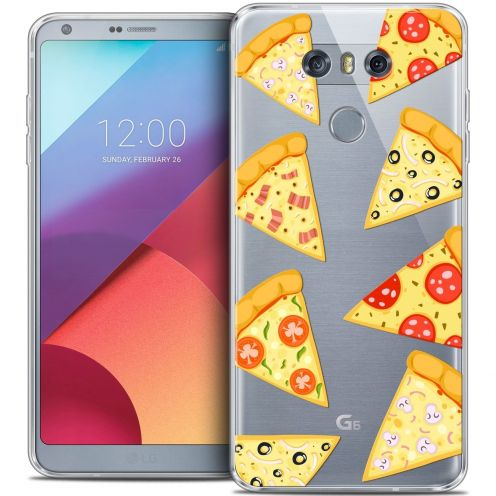 Coque Crystal Gel LG G6 Extra Fine Foodie - Pizza