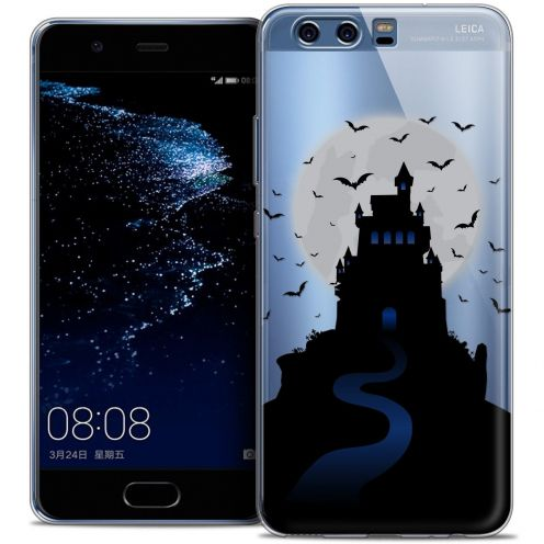 Coque Crystal Gel Huawei P10 Extra Fine Halloween - Castle Nightmare