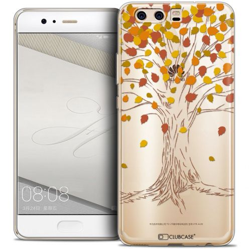 Coque Crystal Gel Huawei P10 Extra Fine Autumn 16 - Tree