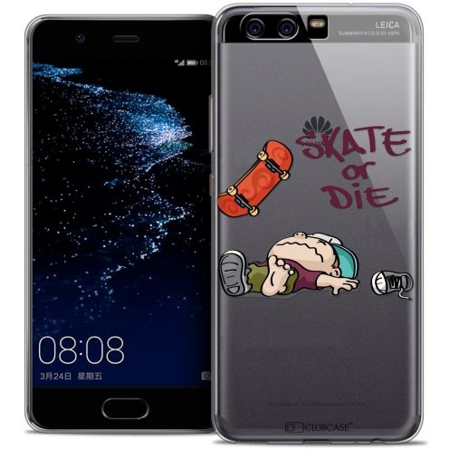 Coque Crystal Gel Huawei P10 Extra Fine BD 2K16 - Skate Or Die