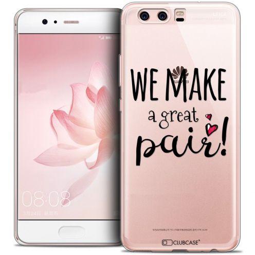 Coque Crystal Gel Huawei P10 Extra Fine Love - We Make Great Pair