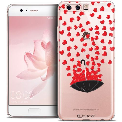 Coque Crystal Gel Huawei P10 Extra Fine Love - Parapluie d'Amour