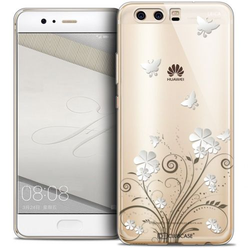 Coque Crystal Gel Huawei P10 Extra Fine Summer - Papillons