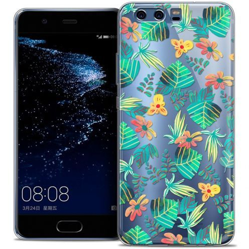 Coque Crystal Gel Huawei P10 Extra Fine Spring - Tropical