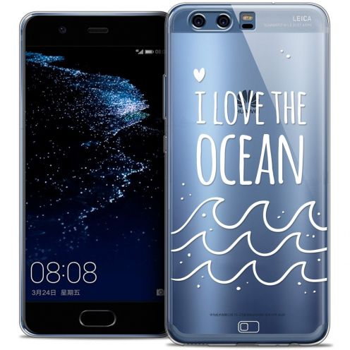 Coque Crystal Gel Huawei P10 Extra Fine Summer - I Love Ocean