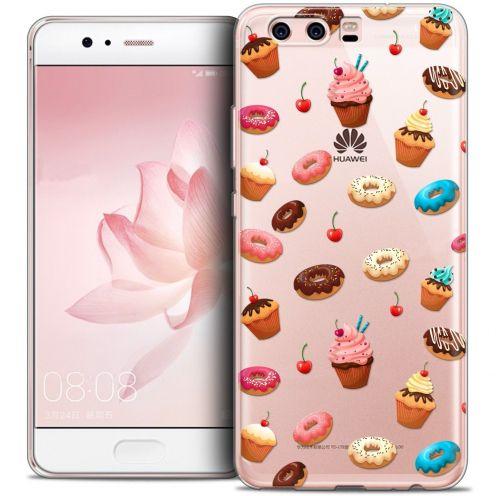Coque Crystal Gel Huawei P10 Extra Fine Foodie - Donuts