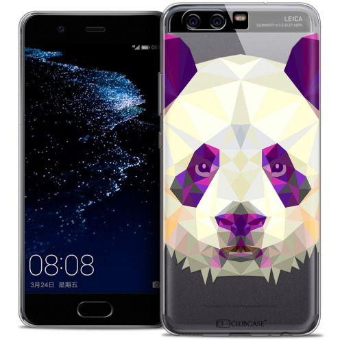 Coque Crystal Gel Huawei P10 Extra Fine Polygon Animals - Panda