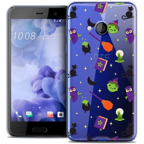 Coque Crystal Gel HTC U Play Extra Fine Halloween - Witch Potter