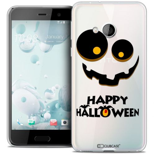 Coque Crystal Gel HTC U Play Extra Fine Halloween - Happy