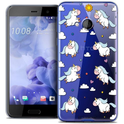 Coque Crystal Gel HTC U Play Extra Fine Fantasia - Licorne In the Sky