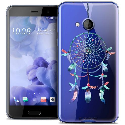 Coque Crystal Gel HTC U Play Extra Fine Dreamy - Attrape Rêves Rainbow