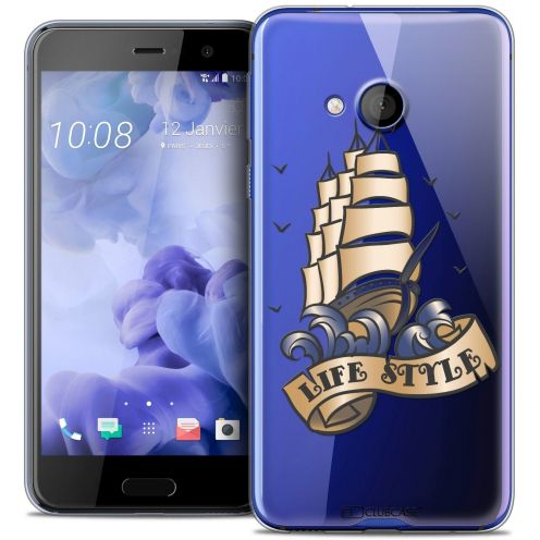 Coque Crystal Gel HTC U Play Extra Fine Tatoo Lover - Life Style