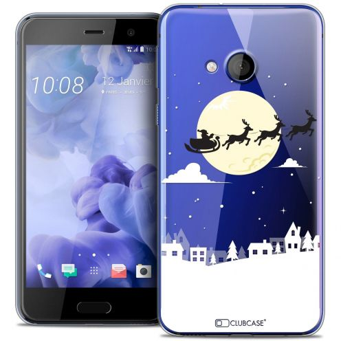 Coque Crystal Gel HTC U Play Extra Fine Noël 2016 - Flying Stanta