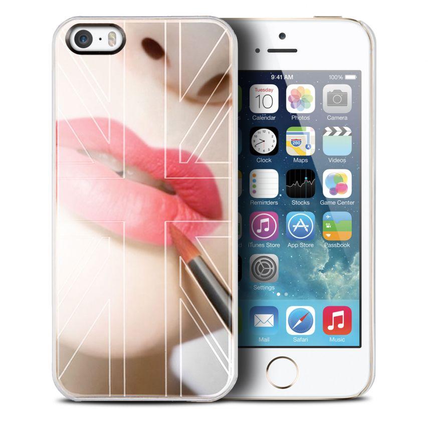 Photo réelle de Coque QDOS Smoothies Metallics Mirror UK pour iPhone 5/5S