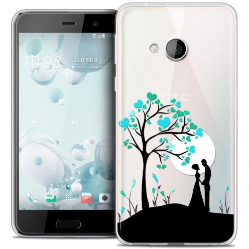 Coque Crystal Gel HTC U Play Extra Fine Love - Sous l'arbre