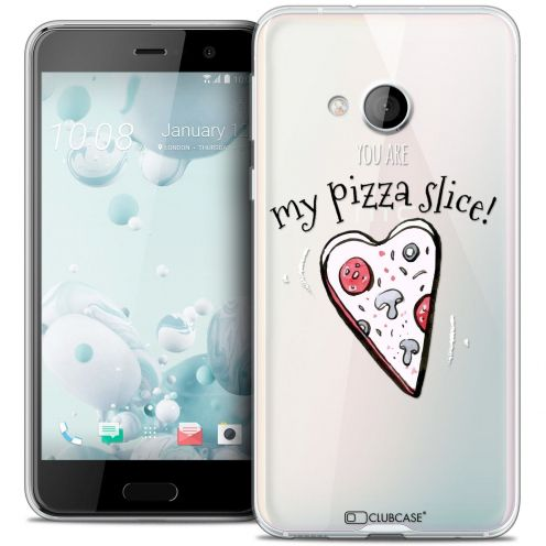 Coque Crystal Gel HTC U Play Extra Fine Love - My Pizza Slice