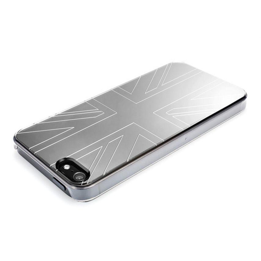 Visuel unique de Coque QDOS Smoothies Metallics Mirror UK pour iPhone 5/5S