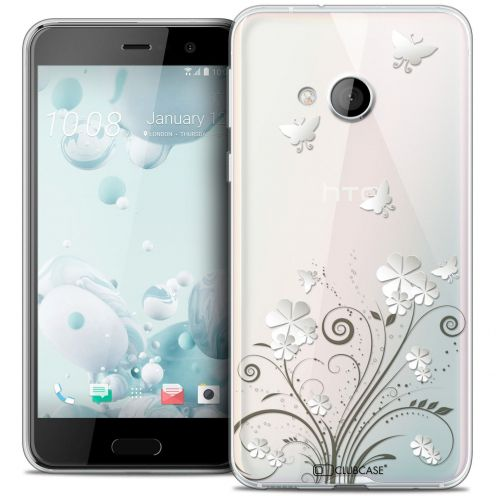 Coque Crystal Gel HTC U Play Extra Fine Summer - Papillons