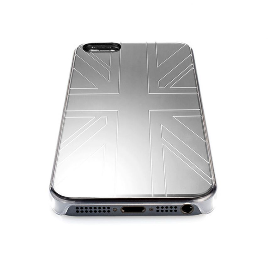Visuel supplémentaire de Coque QDOS Smoothies Metallics Mirror UK pour iPhone 5/5S
