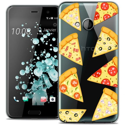 Coque Crystal Gel HTC U Play Extra Fine Foodie - Pizza