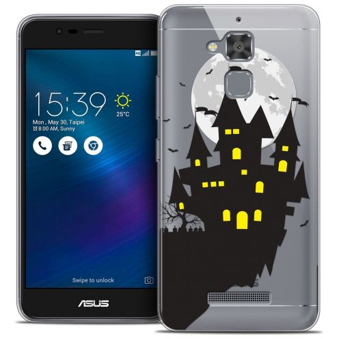 "Coque Crystal Gel Asus Zenfone 3 Max ZC520TL (5.2"") Extra Fine Halloween - Castle Dream"