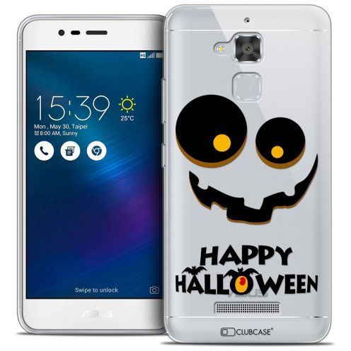 "Coque Crystal Gel Asus Zenfone 3 Max ZC520TL (5.2"") Extra Fine Halloween - Happy"