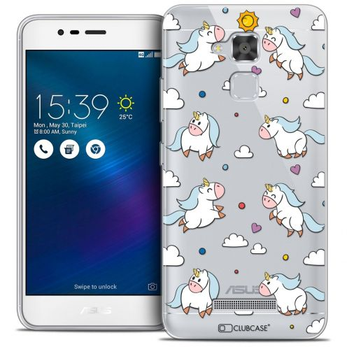 "Coque Crystal Gel Asus Zenfone 3 Max ZC520TL (5.2"") Extra Fine Fantasia - Licorne In the Sky"