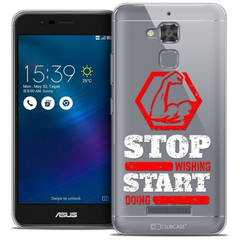 """Coque Crystal Gel Asus Zenfone 3 Max ZC520TL (5.2"""") Extra Fine Quote - Start Doing"""
