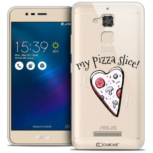 "Coque Crystal Gel Asus Zenfone 3 Max ZC520TL (5.2"") Extra Fine Love - My Pizza Slice"